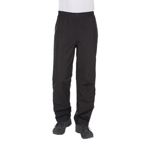 VAUDE Fluid II Full-Zip Pants Men black